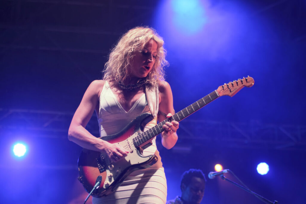 Ana Popovic al Pistoia Blues Festival 2019
