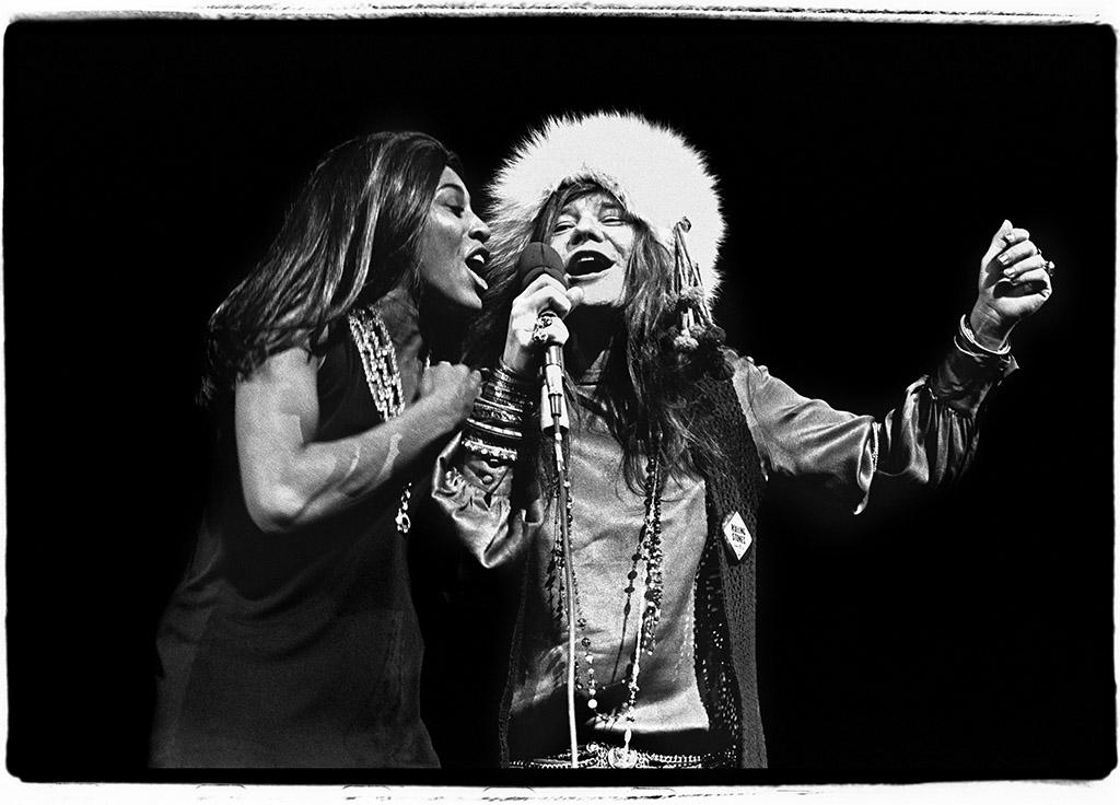 Janis Joplin e Tina Turner