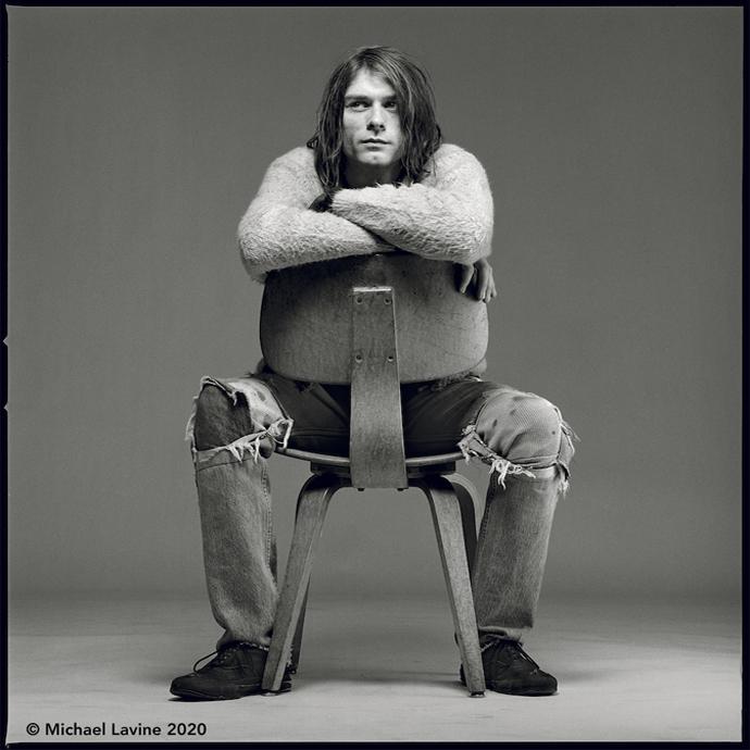 Kurt Cobain, 1992 ©Michael Lavine 2020