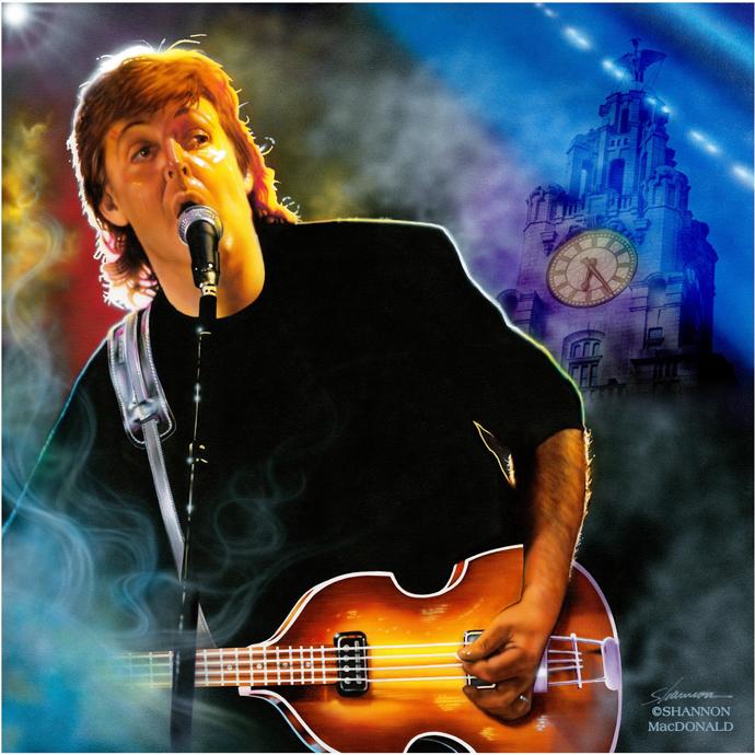 Paul McCartney Liverpool