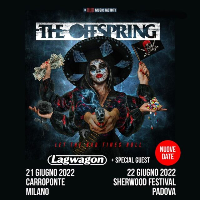 The Offspring e Lagwagon concerti 2022