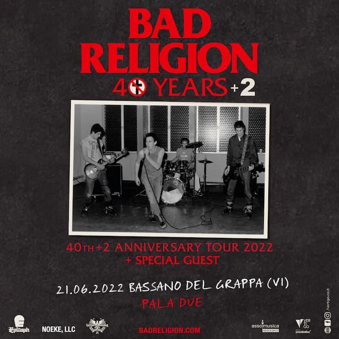 Bad Religion 2022